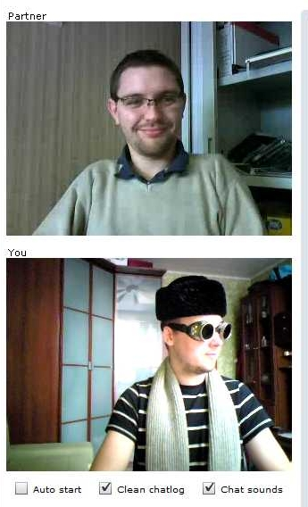 ChatRoulette Screenshot: Now that