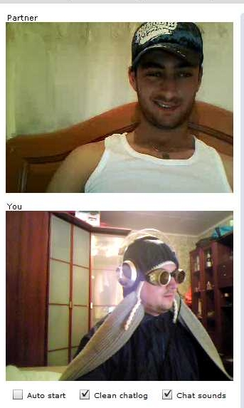 ChatRoulette Screenshot: What the ...?